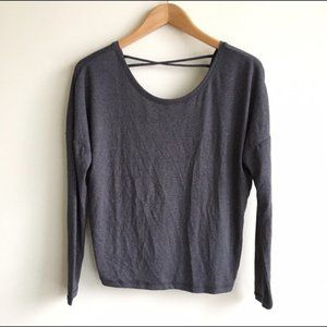 NWOT Lucy Low Back Top
